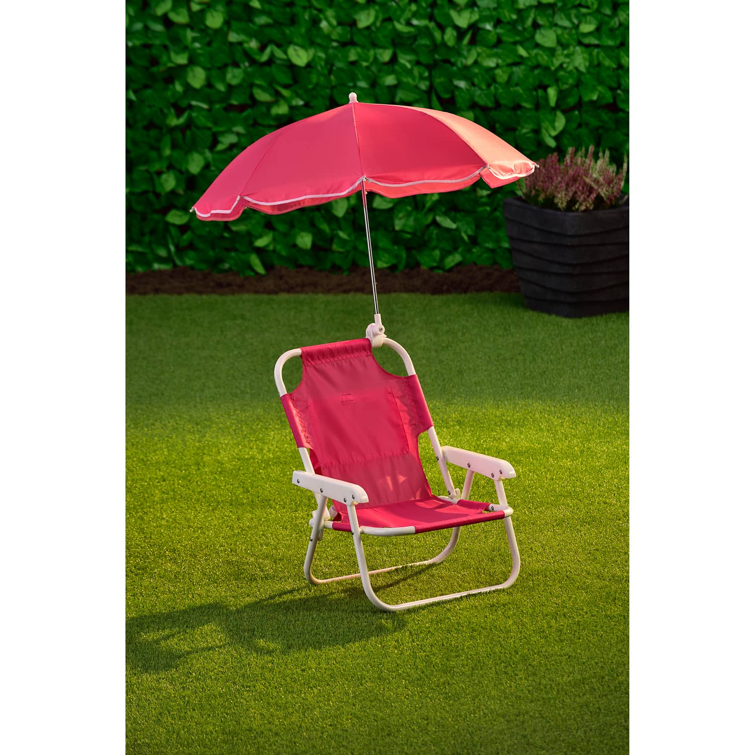 Bench Furniture Pink Baby Beach Chair Umbrella Outdoor Kids Shade New Picnic Camp Lawn Folding Garden Patio Instituteoffinearts Co In