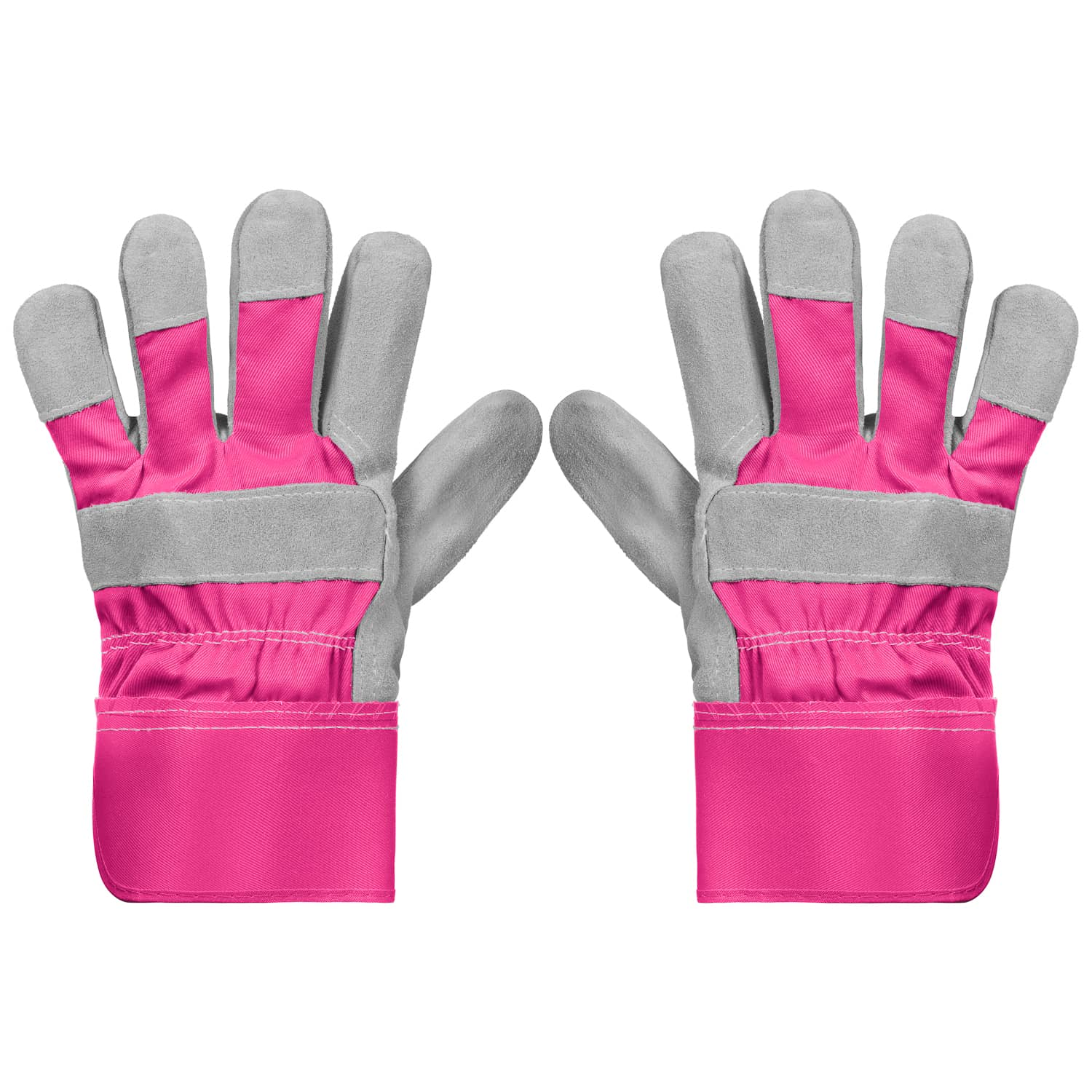 Fishing Gloves for Women Coated Grip Gloves Textured Grip Heavy-duty Pink NEW