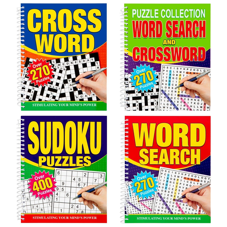 - Large Print Puzzle Book - Crosswords Books - B&M