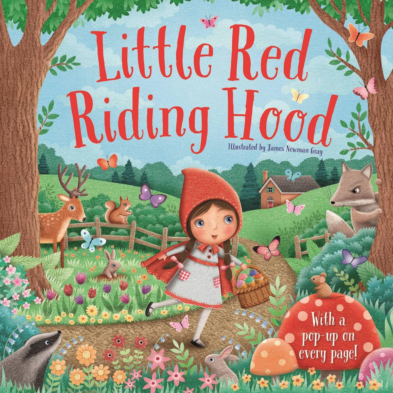 3d Pop Up Book Little Red Riding Hood Books B M