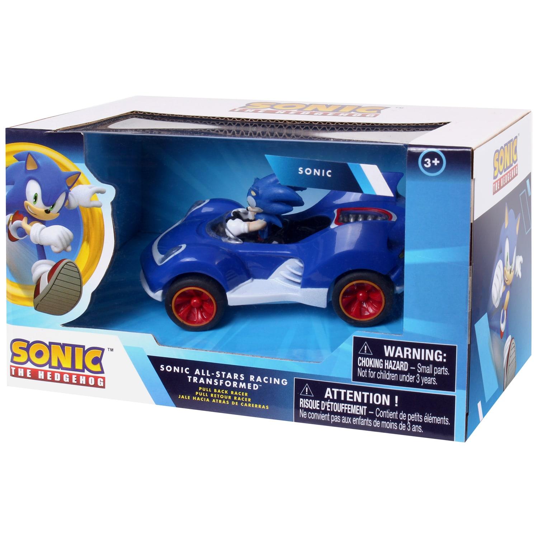 Sonic All Stars Racing Transformed Pull Back Car Toy Cars B M