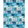 291878-adult-everyday-icons-blue-wrapping-paper
