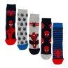 316234-Kids-Spiderman-Socks-5PK1