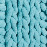 318015-Knitted-Texture-Microfibre-Chenille-Bathmat-soft-tealdetail1