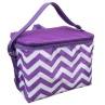 319883-Foldable-Lunch-Cool-Bag-Purple-Zig-Zag