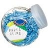 320679-Mini-Tubs-of-Blue-Paper-Clips
