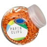 320679-Mini-Tubs-of-Orange-Paper-Clips