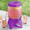 321260-concertina-drinks-dispenser-on-stand-5-4l-purple