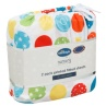 324404-Silent-NIght-Cot-Bed-100-Percent-Cotton-Printed-Fitted-Sheets-2PK-Circles