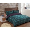 326820-326821-326822-Brushed-Cotton-Check-Duvet-Green