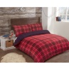 326820-326821-326822-Brushed-Cotton-Check-Duvet-Red