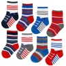 327131-little-star-8-pairs-baby-socks-cotton-rich-red-and-blue-10