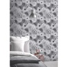 330638-Arthouse-Foil-In-Bloom-Mono-Wallpaper-2