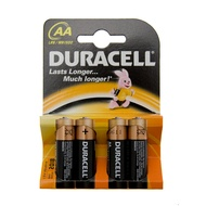 Duracell AA 4 Pack Alkaline Batteries