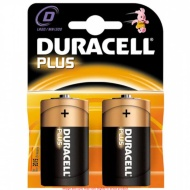 Duracell Plus  2 Pack D Size Batteries