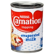 Nestle Carnation Topping - Evaporated Milk