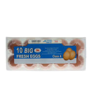 10 Big Fresh Eggs