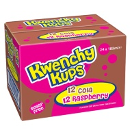 Kwenchy Cola & Raspberry 24 x 185ml