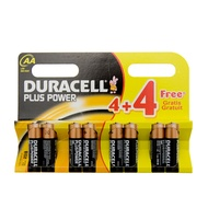 Duracell AA Plus 8 Pack Batteries