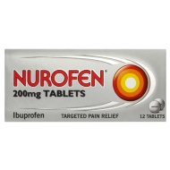 Nurofen Tablets 200mg 12pk