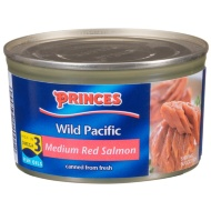 Princes Wild Pacific Medium Red Salmon 213g