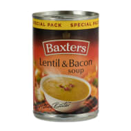 Baxters Lentil & Bacon Soup 380g