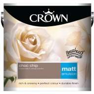 Crown 2.5L Choc Chip Matt Emulsion Paint