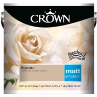 Crown 2.5L Liqueur Matt Emulsion Paint