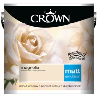 Crown 2.5L Magnolia Matt Emulsion Paint