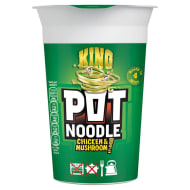 King Pot Noodle Chicken & Mushroom 114g
