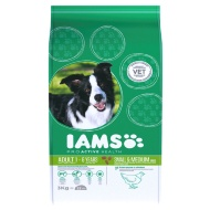 Iams Adult Small & Medium Dry Dog Food 3kg - Chicken