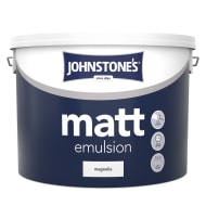 Johnstone's Paint Vinyl Matt Emulsion - Magnolia 10L