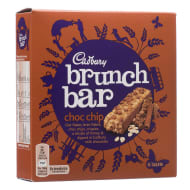 Cadbury Brunch Bar Choc Chip 6pk