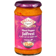 Patak's Mixed Pepper Jalfrezi Sauce