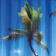 Photo Shower Curtain - Beach