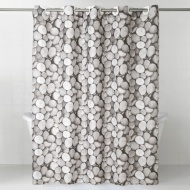 Photo Shower Curtain - Pebbles