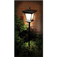 Solar Powered Garden Lamp Post 1.3m