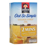 Quaker Oats Oat So Simple Golden Syrup 360g