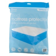 Fitted Mattress Protector Single
