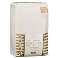 Faux Lambswool Mattress Protector - King