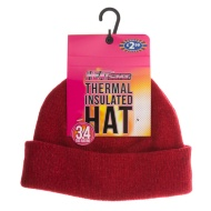 HEATsaver Ladies Thermal Insulated Hat - Red