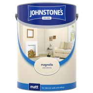 Johnstone's Paint Matt Emulsion Magnolia 5L