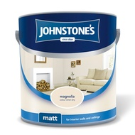 Johnstone's Magnolia Matt 2.5lt Paint