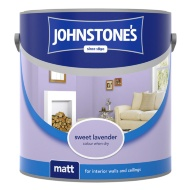 Johnstone's Paint Vinyl Matt Emulsion - Sweet Lavender 2.5L