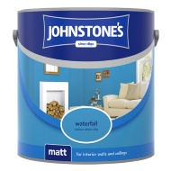 Johnstone's Paint Vinyl Matt Emulsion - Waterfall 2.5L