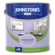 Johnstone's Paint Vinyl Silk Emulsion - Sweet Lavender 2.5L