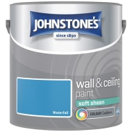 Johnstone's Paint Vinyl Soft Sheen Emulsion - Waterfall 2.5L
