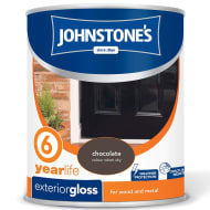 Johnstone's Paint Exterior Gloss - Chocolate 750ml