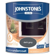 Johnstone's Exterior Undercoat Dark Grey 750ml
