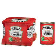 Heinz Chopped Tomatoes 4 x 400g